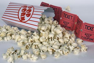 Stock movie film