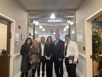 Lt. Gov and his wife visit LifeTown