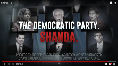 Republican Jewish group launches $10 million presidential campaign with ads calling Democrats a 'shanda'