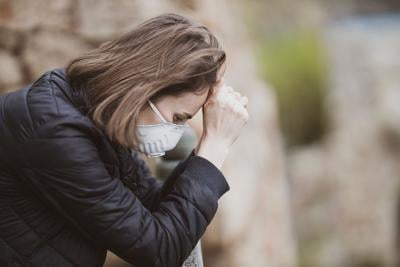 stock stress mental health pandemic