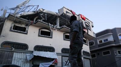 The home of Palestinian Islamic Jihad senior commander Baha Abu al-Ata