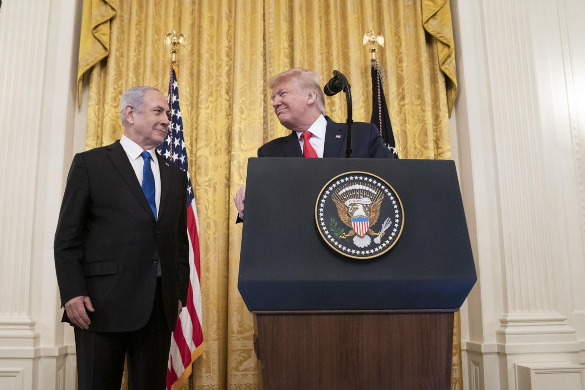 Netanyahu Trump Middle East Peace Plan
