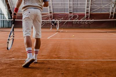 Stock tennis sports