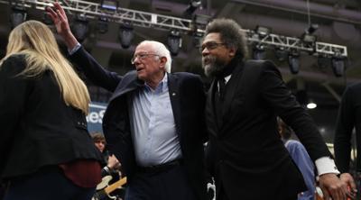 Cornel West uses Hebrew word 'chesed' at Bernie Sanders rally