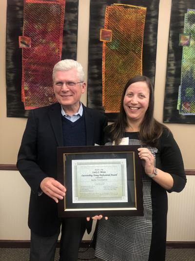 Ruthie Warshenbrot receives Moses Award
