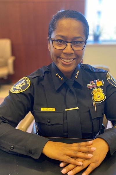 Columbus police chief Elaine Bryant