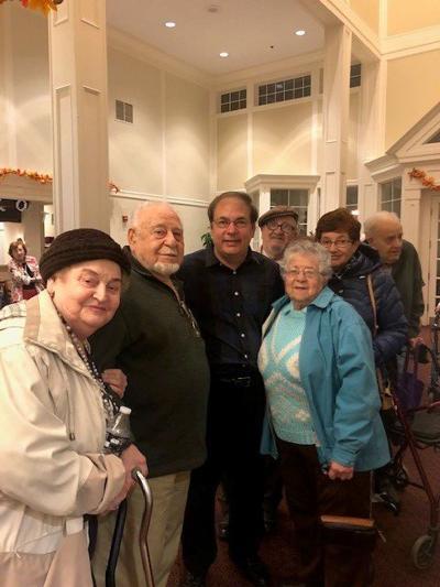 Holocaust survivors, JFS attend live music