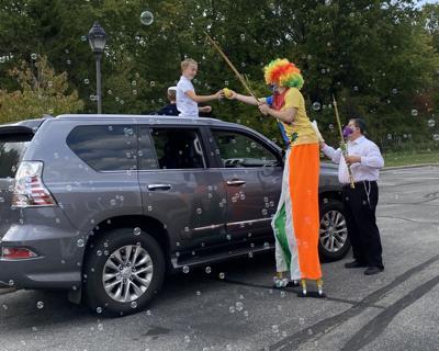 Chabad Columbus holds Sukkot drive-thru carnival (copy)