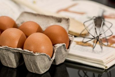 Stock egg whisk cooking
