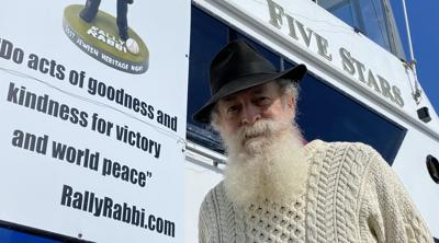 SF Giants' first home game blessed by seafaring 'Rally Rabbi'
