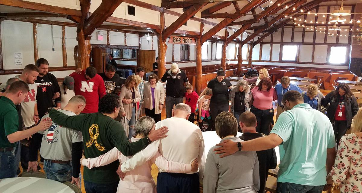 Schuyler flood gathering