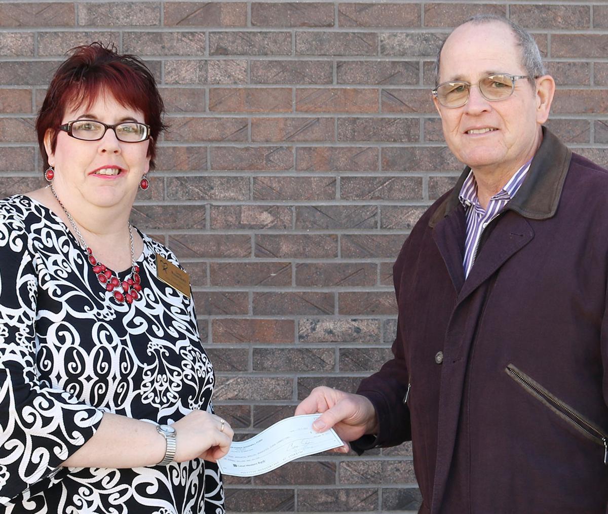 CASA receives donation