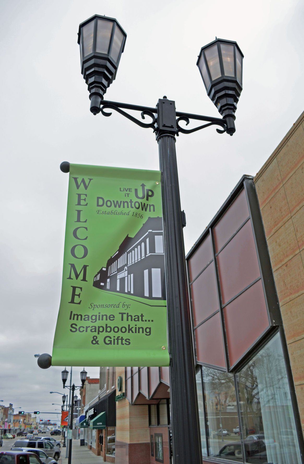 Downtown's new signage