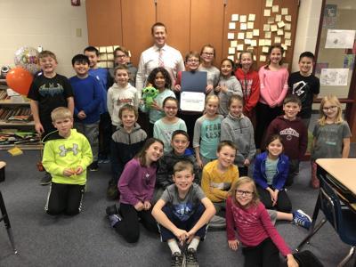Millard fourth-grade class