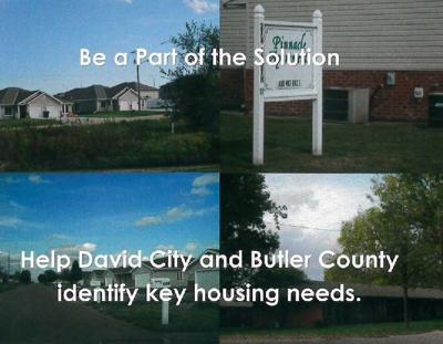 Butler County Housing Study post card front