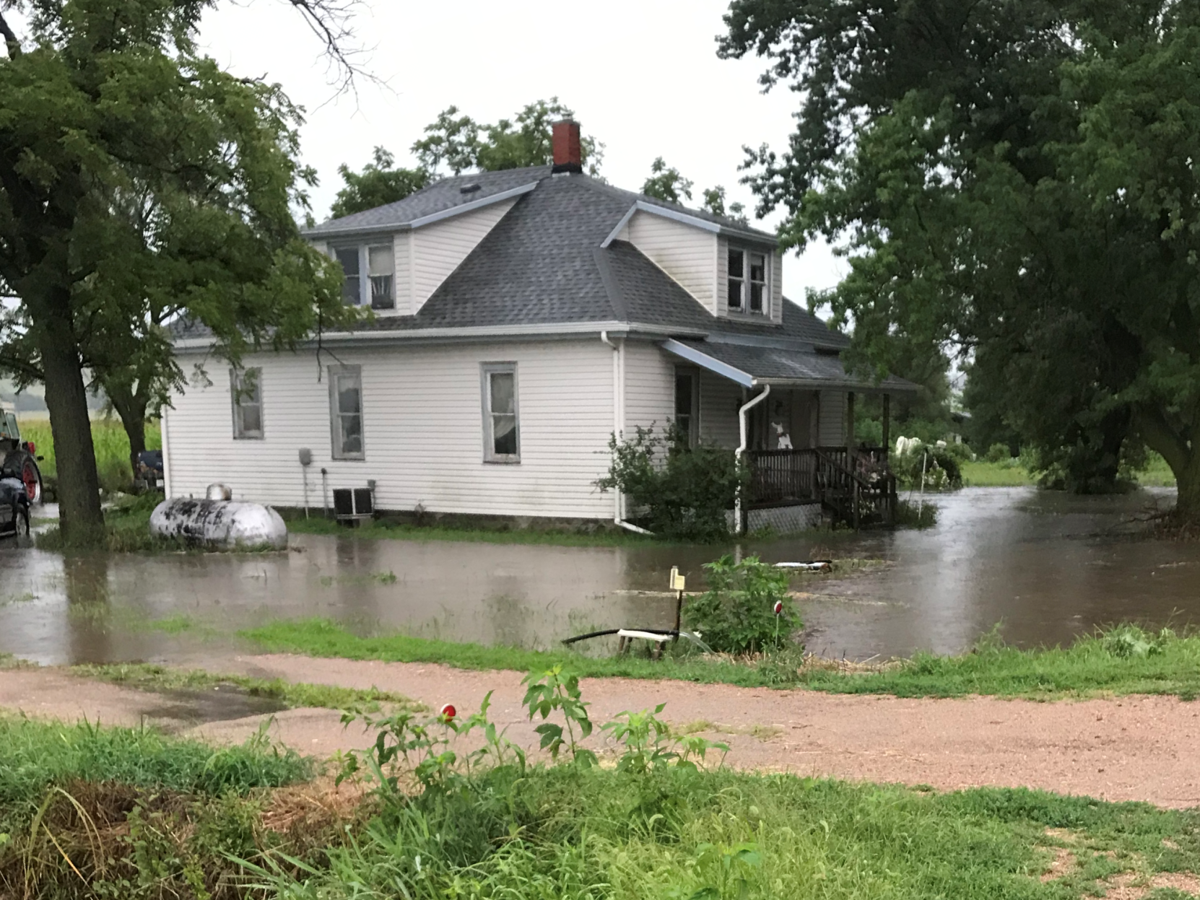 Linwood home surrounded by water 2019