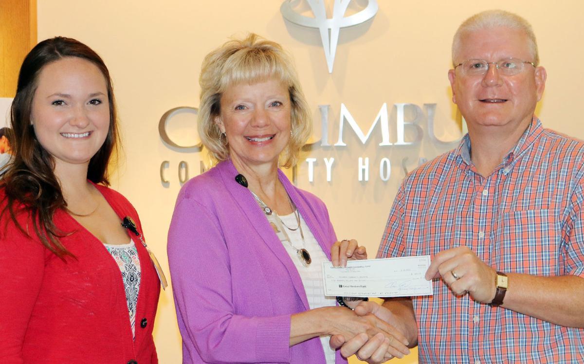 Columbus Hospital Donation