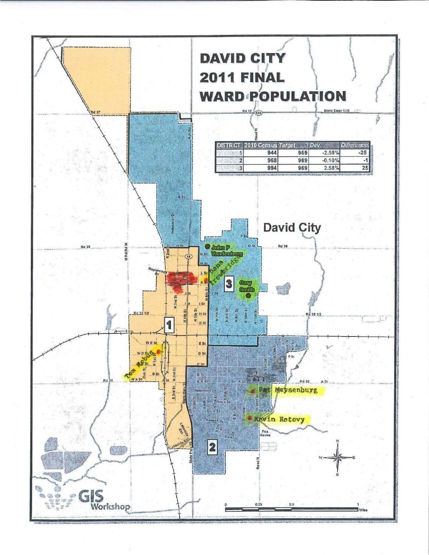 David City wards