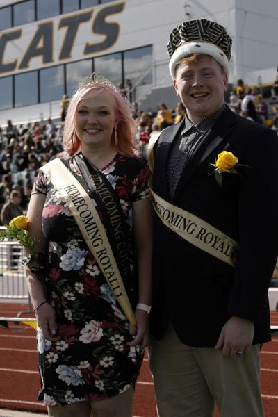 Homecoming King and Queen at Wayne State College