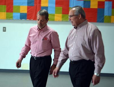 Bill Moos and Jim Pillen