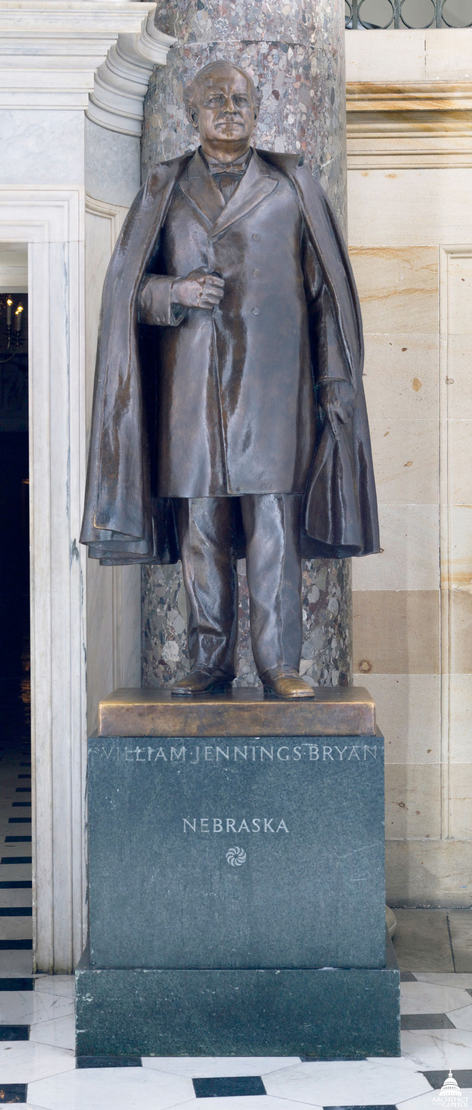 William Jennings Bryan statue