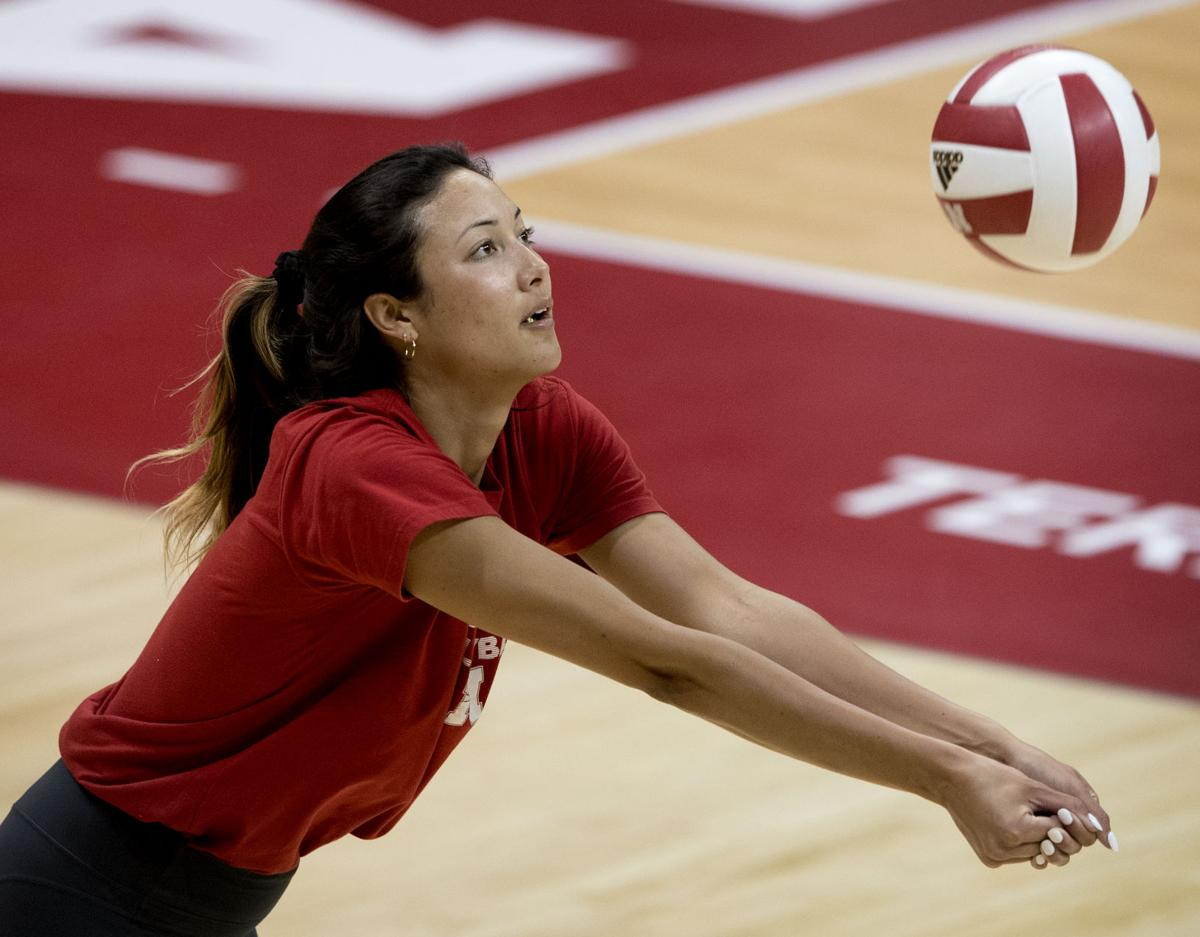 Volleyball Notebook Lexi Sun Benefits From Extended Training Time Huskers Columbustelegram Com