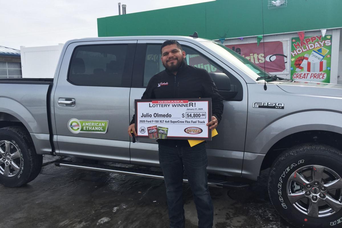Lottery Truck Winner
