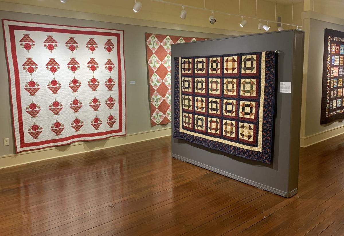 Quilts on display at Bone Creek Museum 2