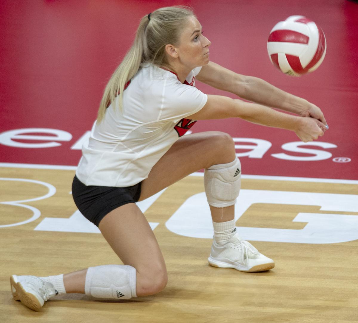 Nebraska Volleyball Transfer Megan Miller Will Stay In The Big Ten Conference Huskers Columbustelegram Com