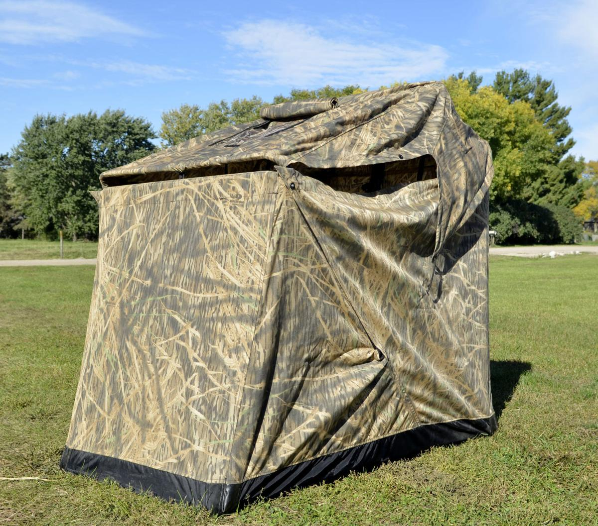 up doghouse for poles by blind pop hunting related gear mesmerizing guide camo seemly out flare made ameristep blinds keywords impressive ground ga