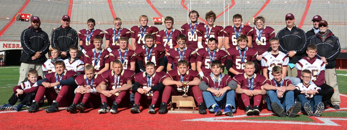 East Butler Class D1 State Football Champions 2017