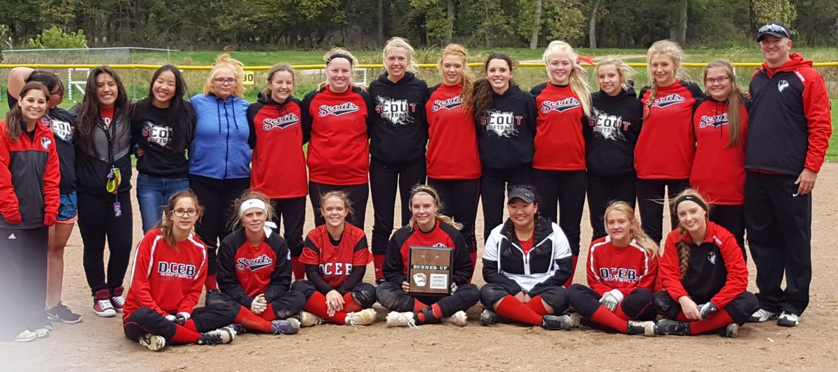 DCEBSRC softball runners up District B-4