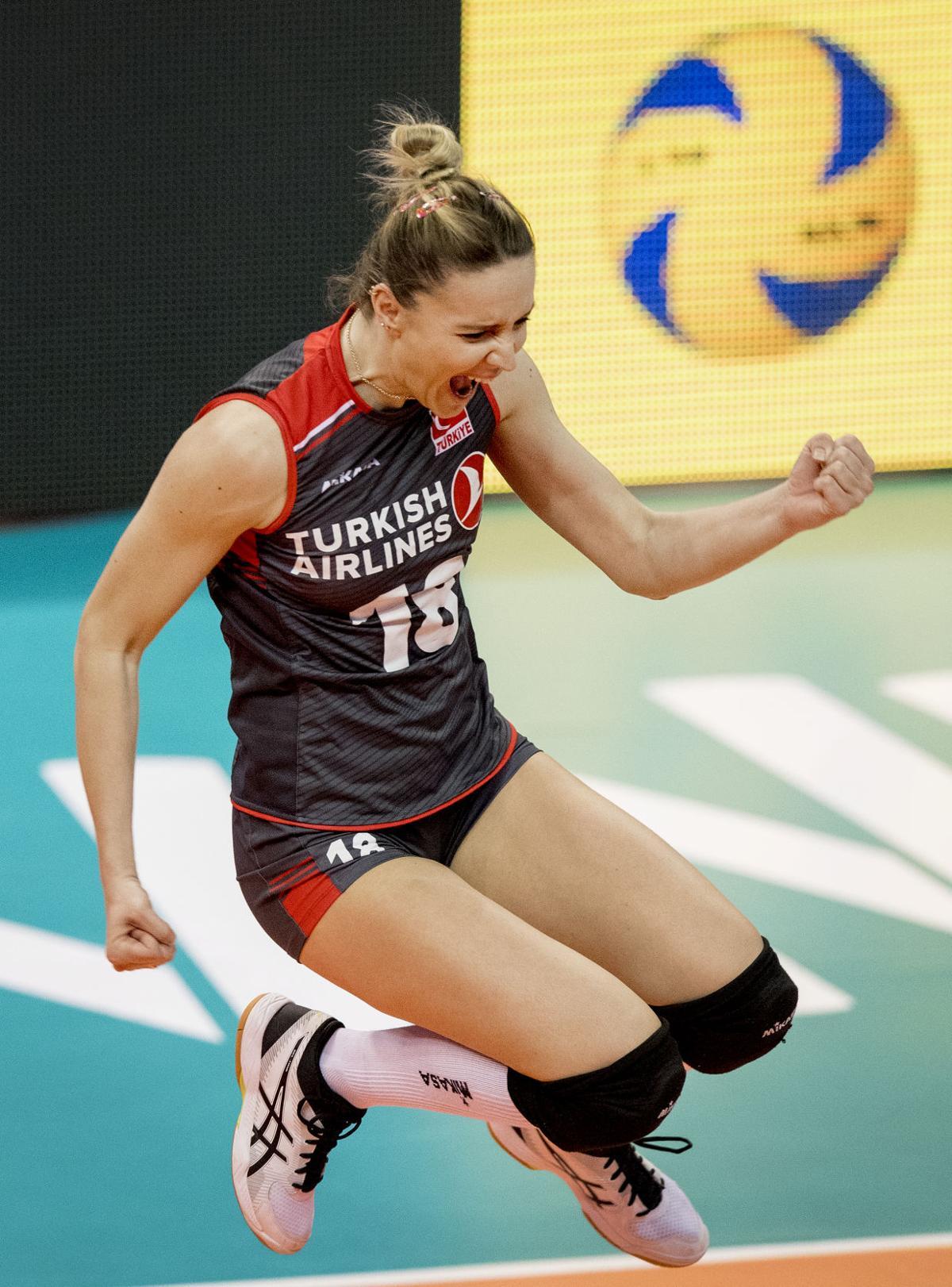 USA volleyball vs. Turkey, 5/16/18
