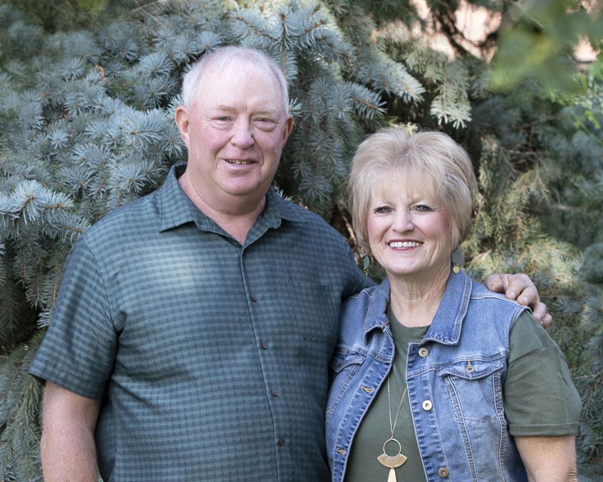 Ann Preister and husband