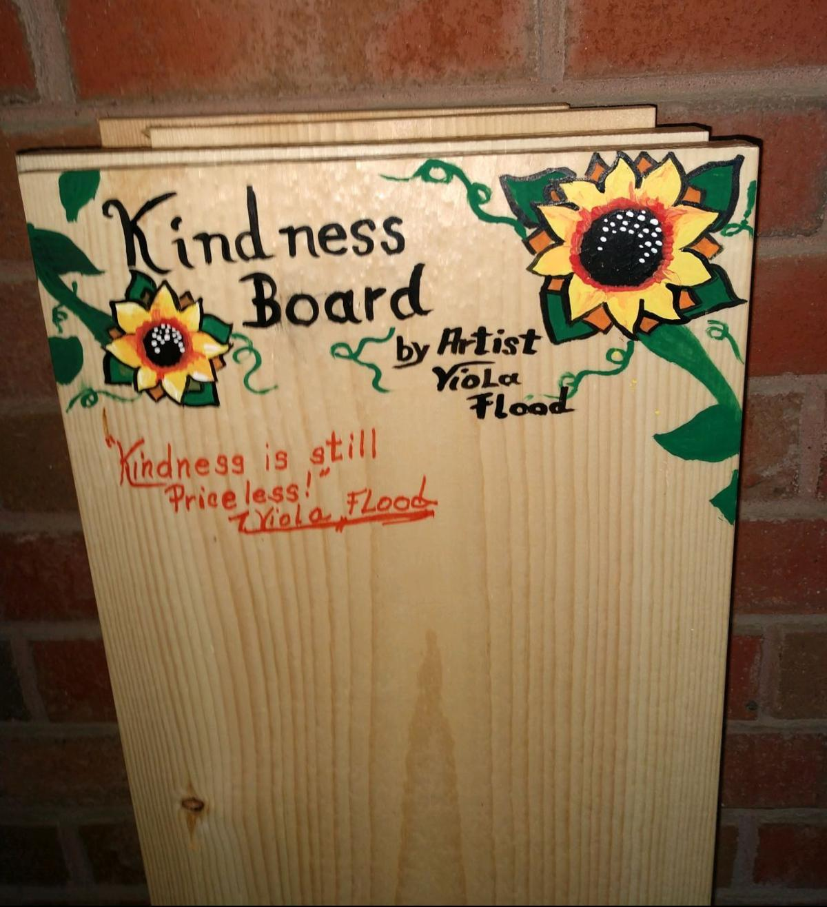 Kindness board