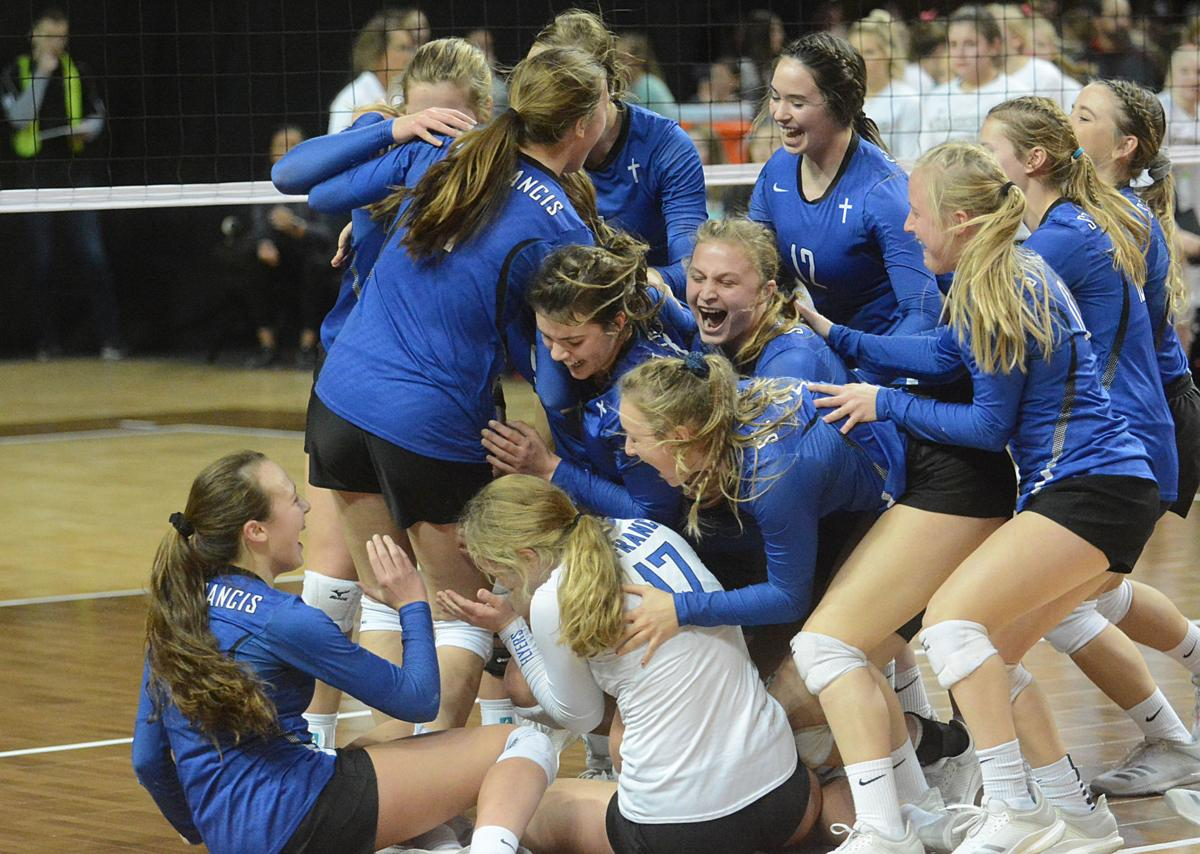 St. Francis Volleyball 11.8