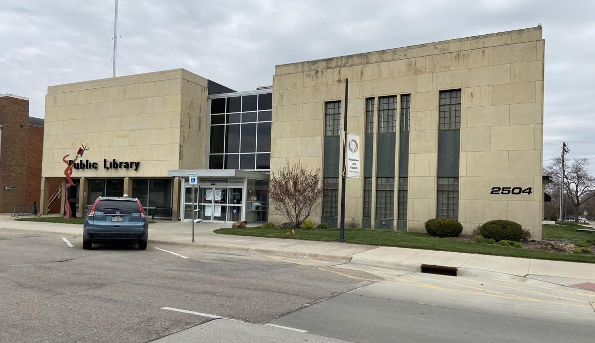 Columbus Public Library building