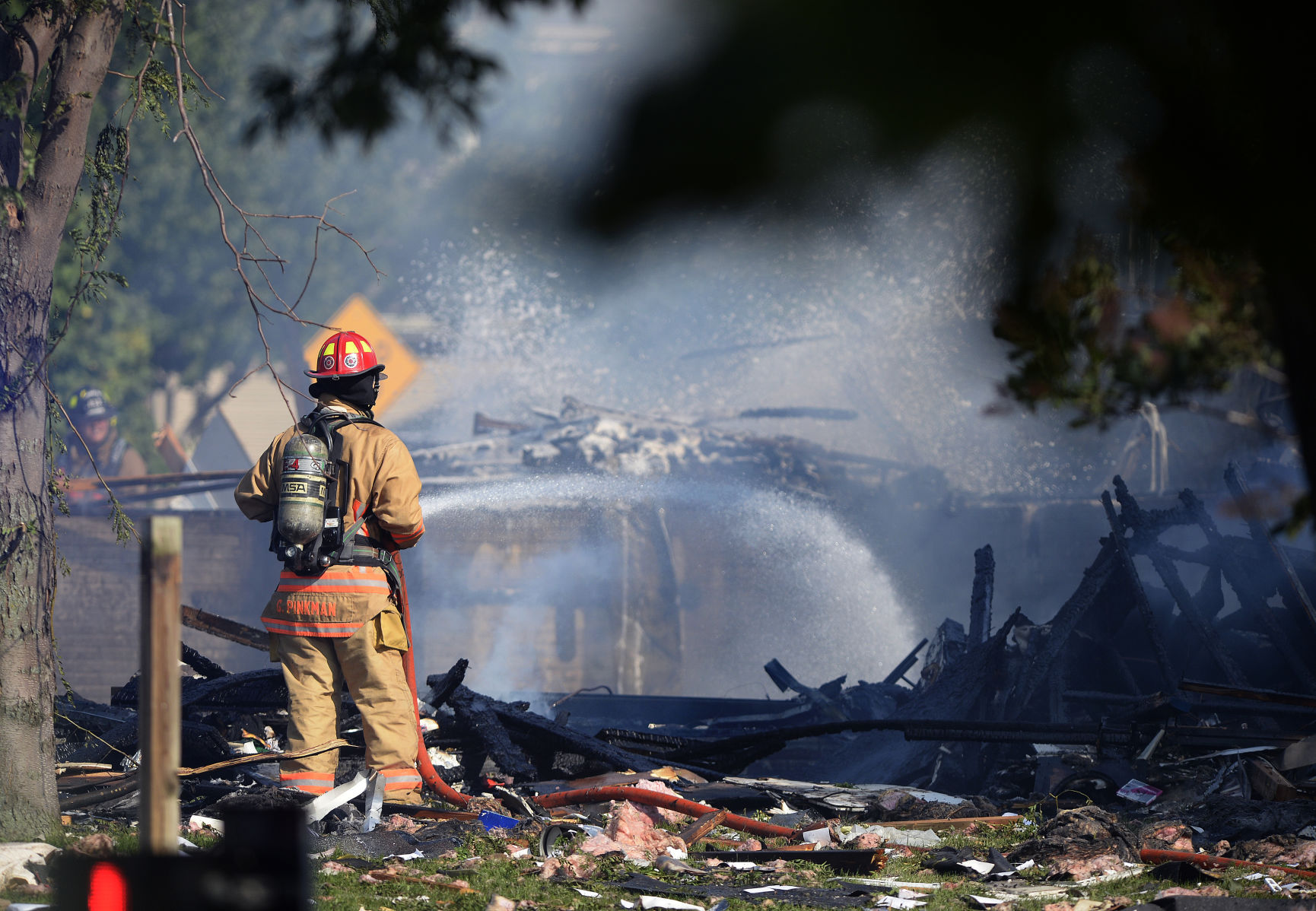 House Explosion Injures Two In Lincoln