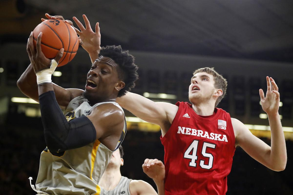 Nebraska Iowa Basketball