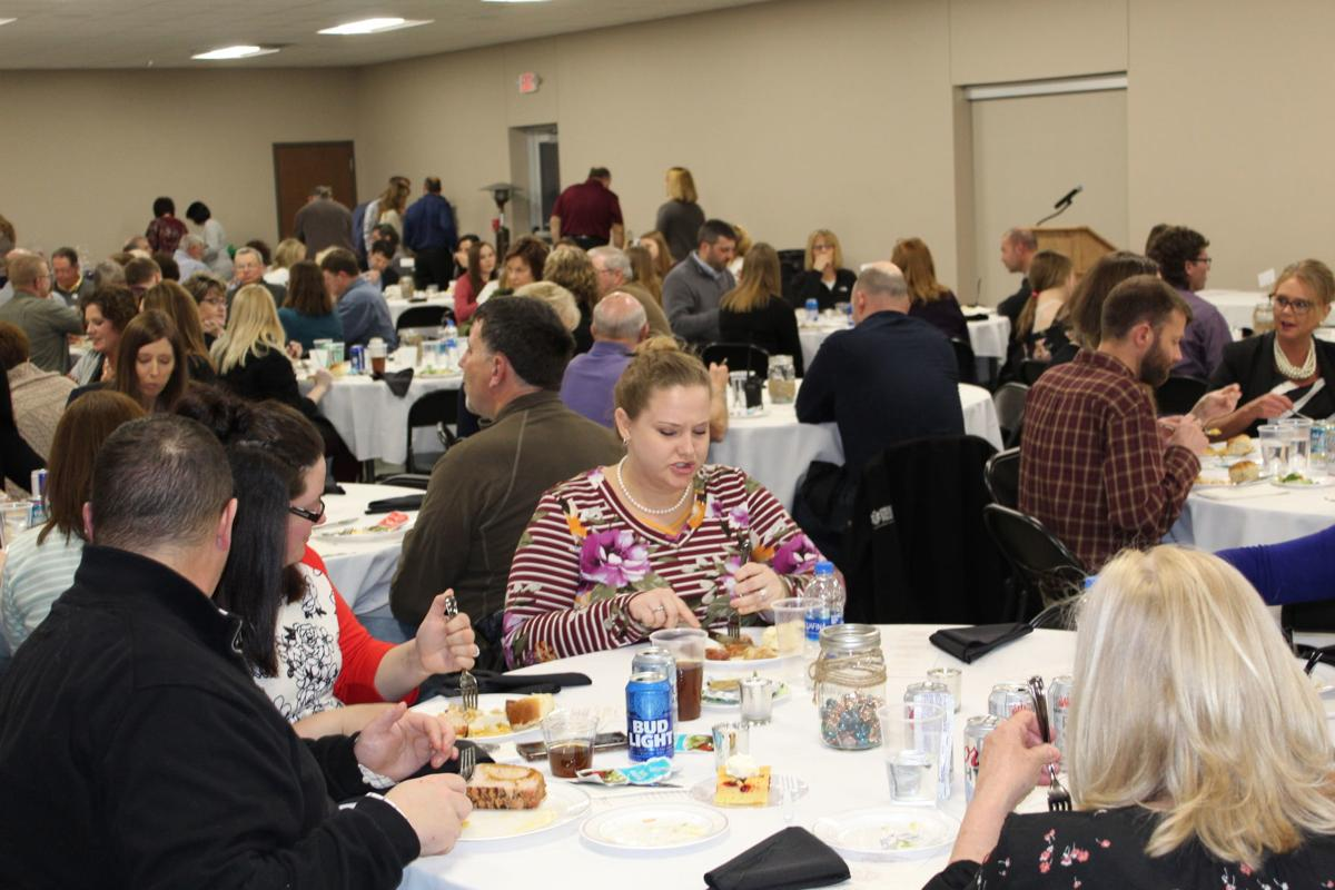 Butler County Chamber of Commerce banquet