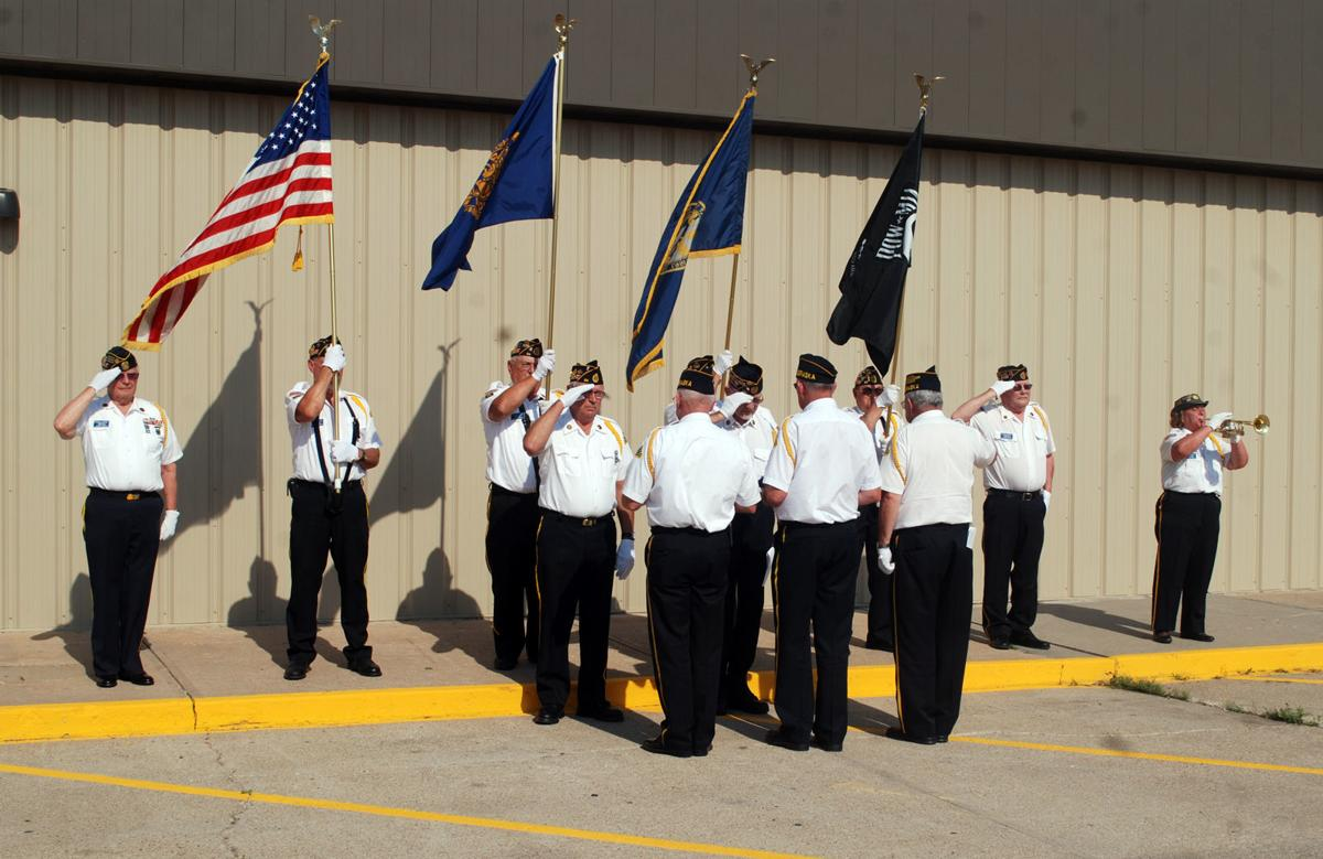 Flags retired, fathers remembered | Local | columbustelegram com