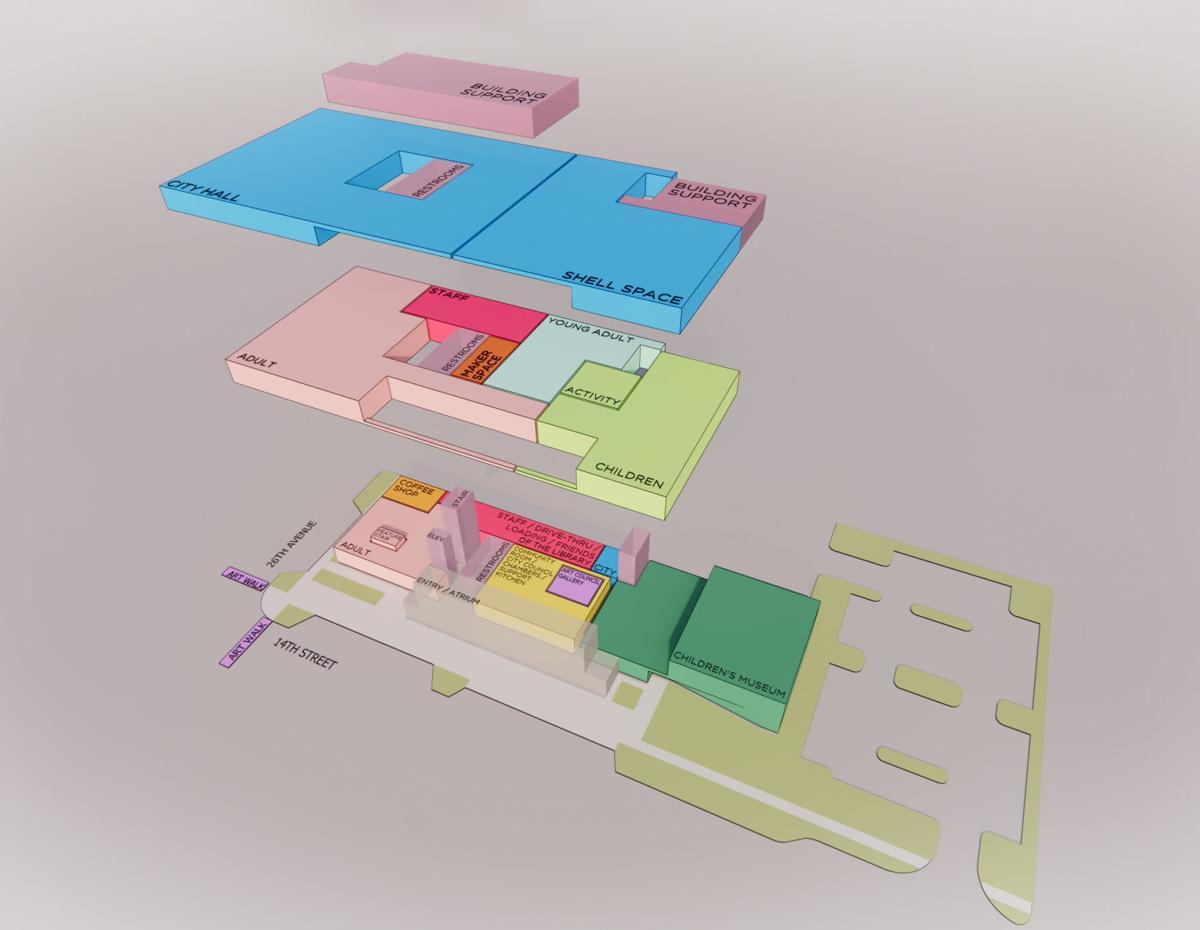 Planes del Ayuntamiento de CPL
