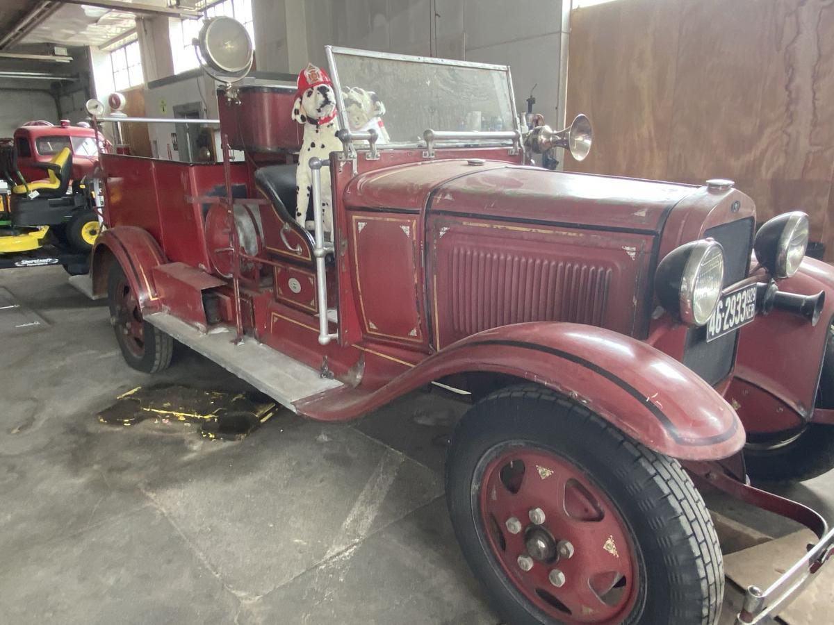 Firetruck in museum