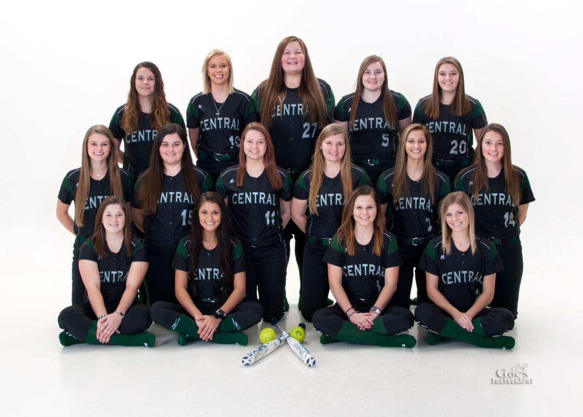 CCC Softball team photo