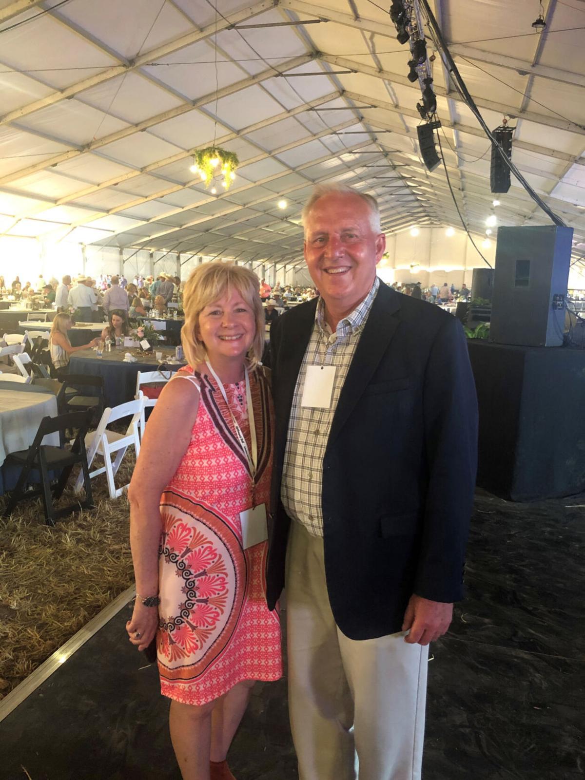 Muellers at Cattlemen's Ball