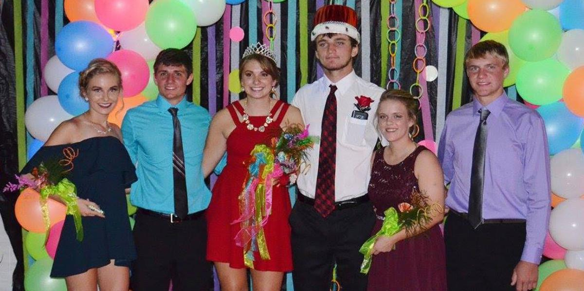 East Butler Homecoming Royalty 2017