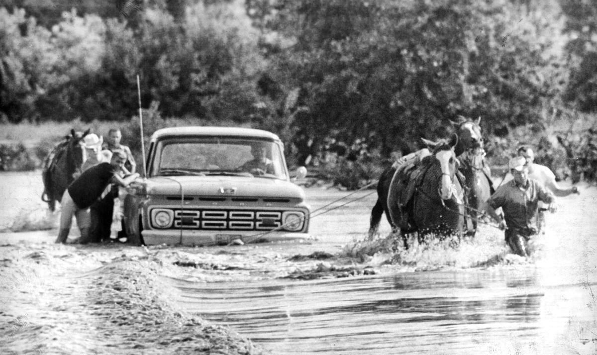 Historic Loup River Flood Hit Columbus Hard