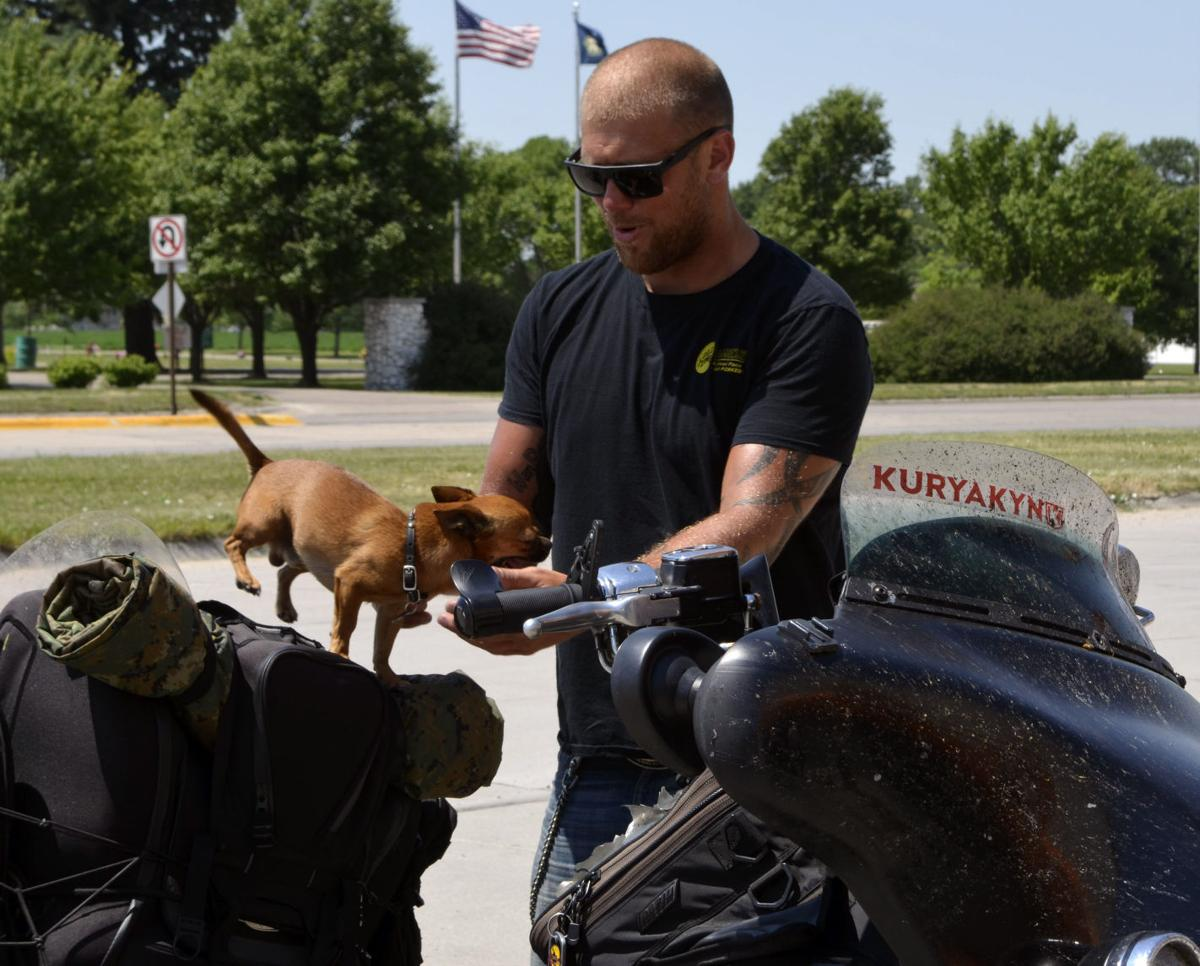 Motorcyclist Rides Coast To Coast To Support Veterans Local