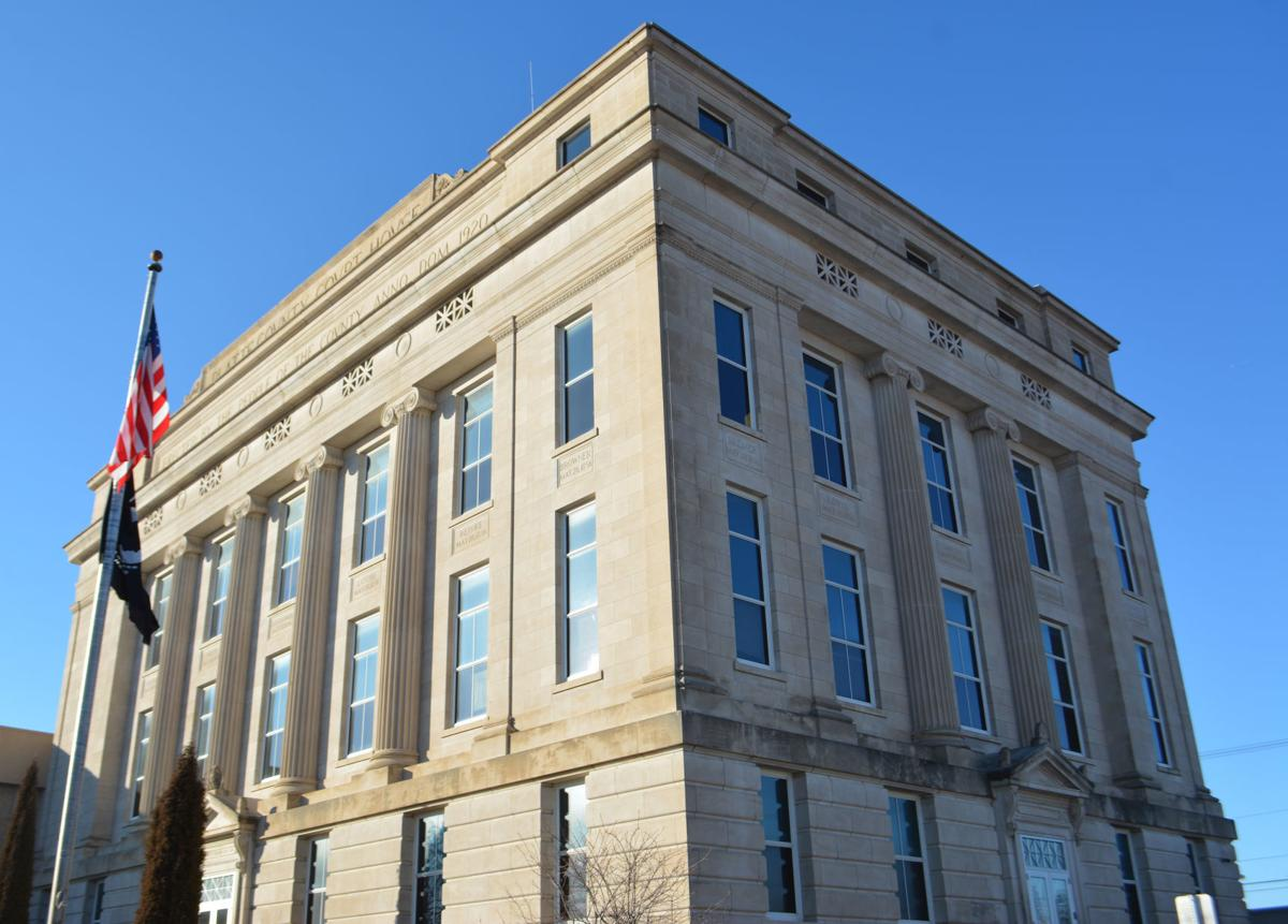 Platte County Courthouse Side