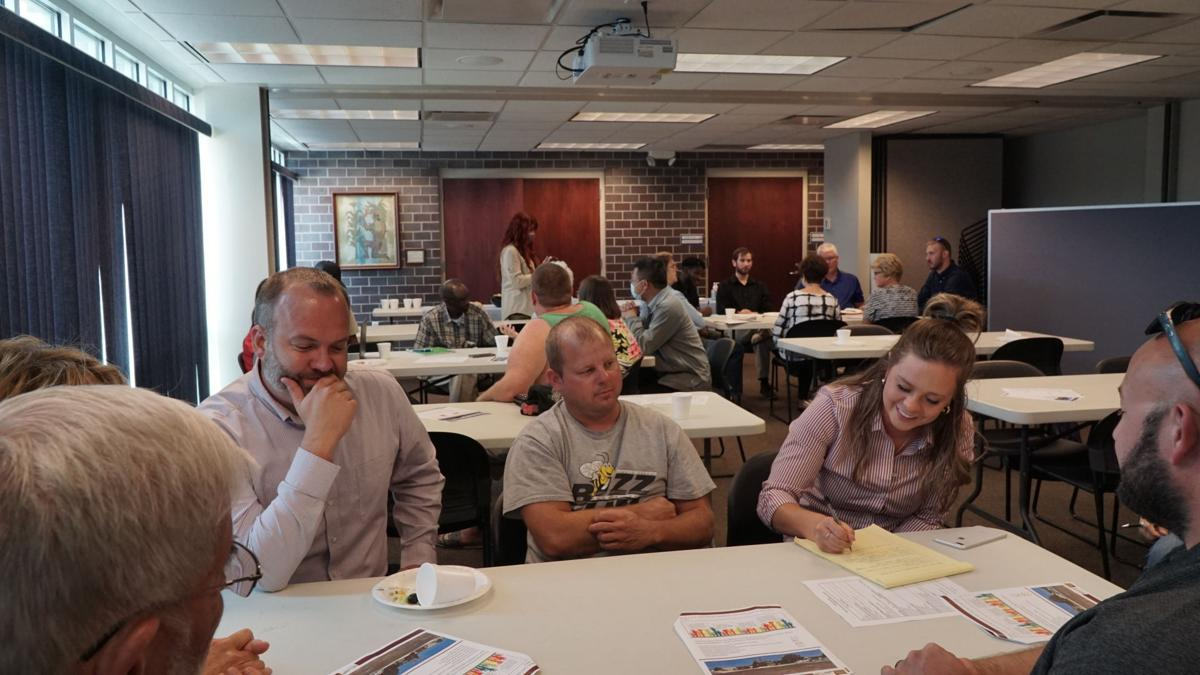 David City downtown revitalization community engagement meeting 1